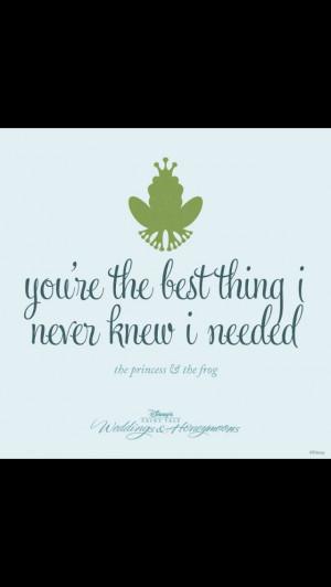 Disney wedding love quote