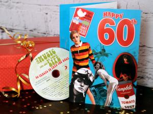 Gifts / Nostalgic Gifts / Retro Milestone Birthday CD Cards