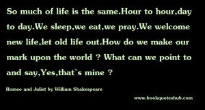 William Shakespeare Quotes Romeo And Juliet (15)