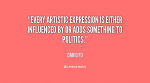 Every artistic expression is either influenced by or adds something to ...