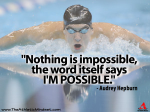 Great Athletes and motivational quotes that inspire us all