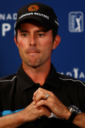 rbc canadian open round three in this photo mike weir mike weir of