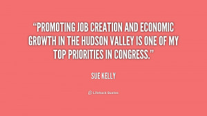 Promoting job creation and economic growth in the Hudson Valley is one ...