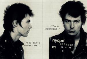 Sid Vicious Mug Shot by revolutionbanana1995