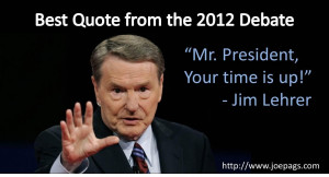 Best Quote From The 2012 Presidential Debate