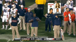 almost brought the Auburn Tigers victory last night over Florida ...