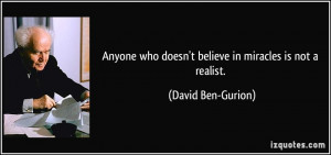 More David Ben-Gurion Quotes