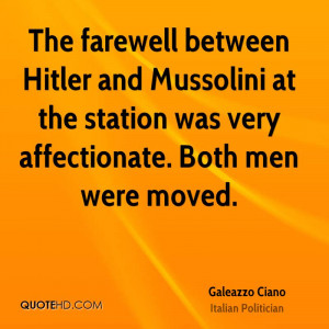 a comparison between hitler and mussolini Compare and contrast stalin mussolini and hitler essay by:xeneb shah our world has had some powerful leaders who have developed their countries as well as having had major impact on the.