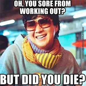Back > Quotes For > Funny Sore Workout Quotes