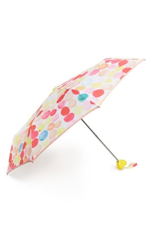 This polka dot umbrella will brighten up the darkest of skies.