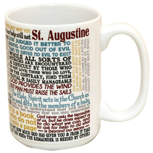 ST AUGUSTINE QUOTES MUG
