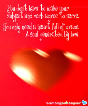 Heart Full of Grace