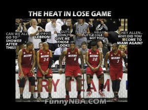 This is the Heat when they lose