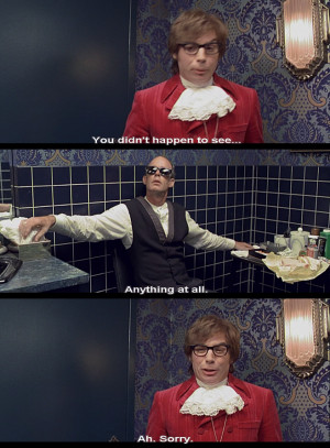 Tag Archives: Austin Powers International Man of Mystery quotes