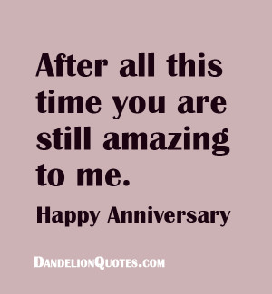 Sweet Wedding Anniversary Quotes - Happy Anniversary Quote