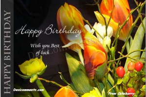... Wishes with Colorful Cards - Romantic Birthday Greeting for her