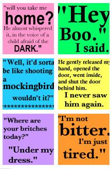 Quotes In To Kill A Mockingbird About Lying ~ hayashino - TKAM English ...