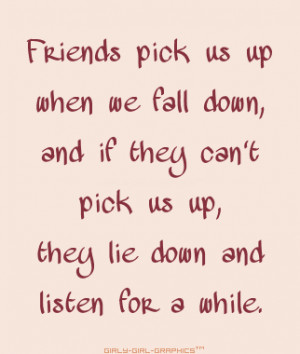 Friends Quote: girly-girl-graphics