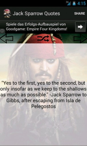 Jack Sparrow Quotes Screenshot 1