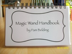 ... wand last fall that i got the idea in my head to write the magic wand