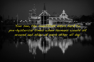 Silly Disney Quotes Over Majestic Images of Disney Parks