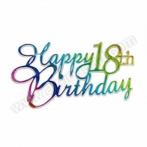 happy 18th birthday graphics helium filled happy 18th happy 18th ...