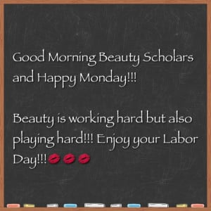 Monday Morning Beauty Quote