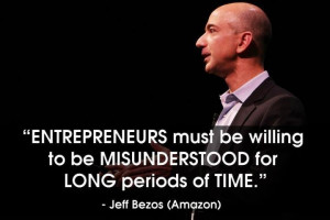 Entrepreneur = Being MisUnderstood