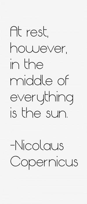 Return To All Nicolaus Copernicus Quotes