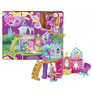 my little pony crystal speelkamer inclusief twilight sparkle pony