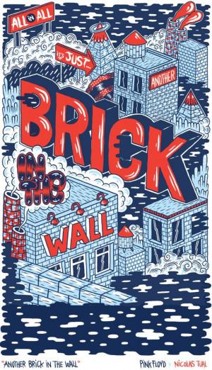 Lyrics Brick in the Wall - Pink Floyd