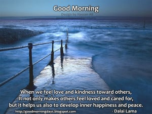 Good Morning Inspiring Happiness Quotes for the day
