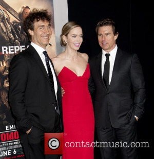 Doug Liman , Emily Blunt and Tom Cruise - Premiere of 'Edge Of ...