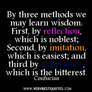 Confucius Quotes about learning wisdom