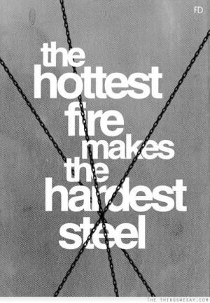The hottest fire...