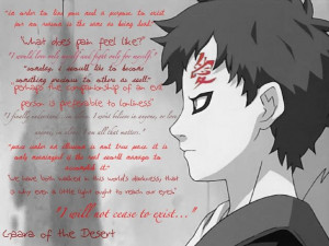 Gaara. You'll never cease to exist. ♥