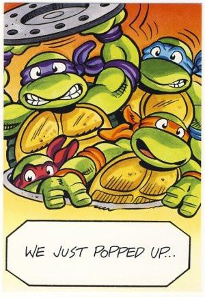 Teenage Mutant Ninja Turtles Birthday Cards