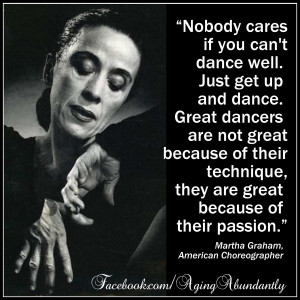 Martha Graham (1894 – 1991) American modern dancer and choreographer