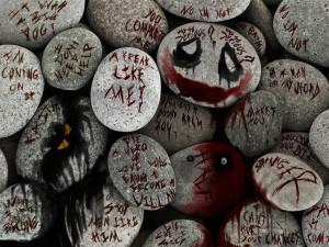 joker quotes on rocks by Paullus23