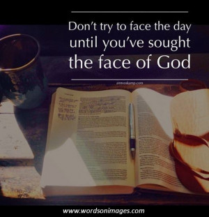 God quote of the day