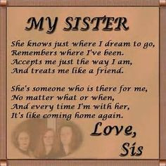 Big Sister Quotes | images of big sister quotes and sayings funny ...
