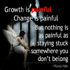 Growth, change, stay, relationship quote