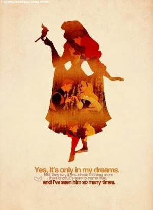 Princess Aurora #silhouette #quote