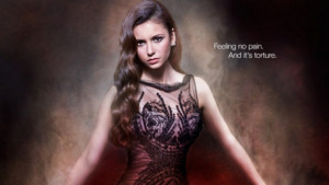 THE VAMPIRE DIARIES: Elena Tortured In May Sweeps Poster