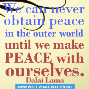 Dalai Lama Peace picture quotes- Daily inspirational quote about life ...
