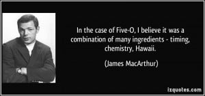 More James MacArthur Quotes