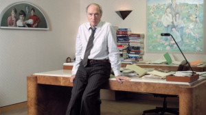 Pierre Trudeau sitting on his desk. His furniture is being sold in ...