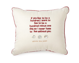 Famous Quotes By Winnie The Pooh Organic cotton pooh pillows