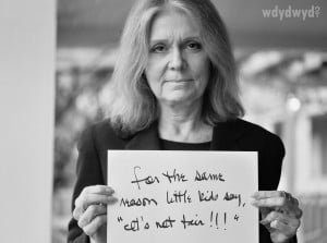 More Gloria Steinem images: