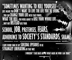 Teen Suicide Prevention Quotes A suicide prevention poster